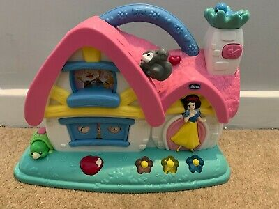 Chicco Snow White Princess Musical Cottage Toy Activity Baby House Disney Girls • 3.99£