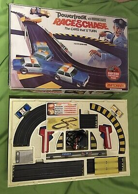 Matchbox Powertrack 'Race & Chase' Pt 6000, Vintage 1980's For Spares Or Repair • 40£