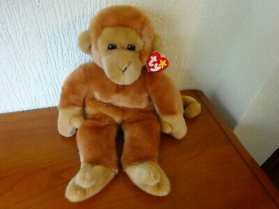 Ty - Beanie Buddy - 'BONGO' - 1998 - PERFECT With Original TAGS - SEE PHOTOS. • 28£
