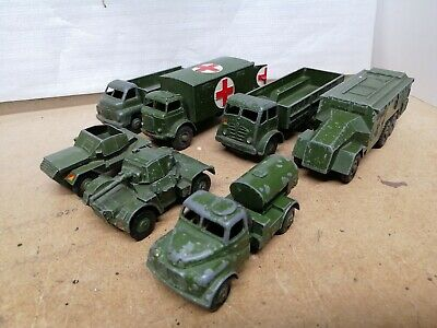 Vintage Dinky Military Army Bundle Joblot X 7 Models. Original Used Condition.  • 12.72£