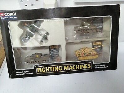 2003 Corgi Fighting Machines 4 Pk D-Day, Operation Overlord WWII Diecast  • 9.99£