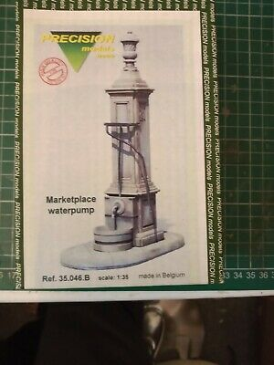 Collectable 1/35 Marketplace Waterpump Resin Model Kit For Railway Diorama • 5£