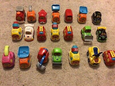 Big Joblot Of 21 Vtech Toot Toot Cars. Lots Different Styles Big Mix • 10£