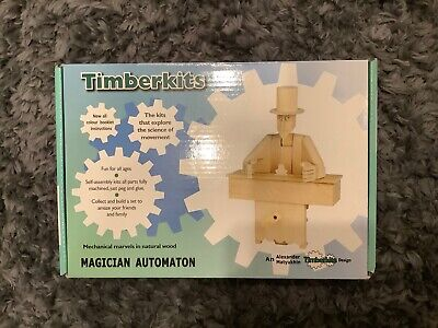 The Magician - Timberkits Self-Assembly Wooden Construction Moving Model Kit • 7.50£