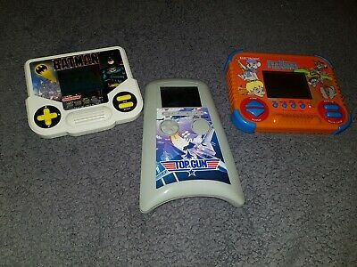 3 X Vintage 80's Handheld Games - Top Gun, Batman And Disney The Rescuers  • 9.99£