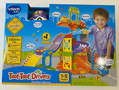 Vtech Baby Toot-Toot Drivers Parking Tower 1-5 Years BRAND NEW • 24.95£