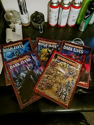 Warhammer Armies Books - 6th Edition - Various Armies - Great Condition • 35£