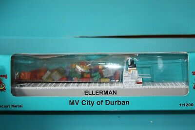 Ellerman Lines Container Ship Boxed City Of Durban. P 622 • 19.95£