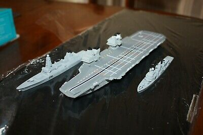HMS Prince Of Wales Super Carrier In 1250 Scale.. We Have Planes Available Too • 79£