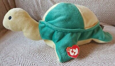 VINTAGE Ty Pillow Pal - Snap The Turtle • 8£