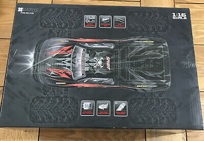 IPX4 Remote Control Car High Speed Off Road RC Car 1:16 Scale 36km/h 4WD 2.4GHz • 38£
