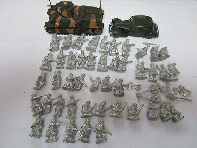 28mm Crusader Miniatures, WW2 French For Bolt Action Etc Includes 2 Vehicles • 30£