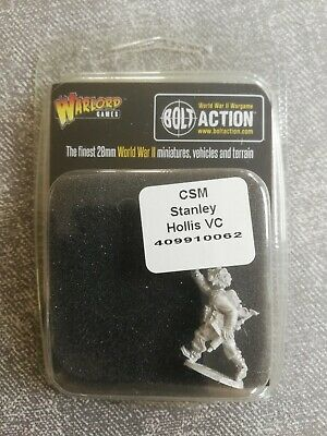 Warlord - Bolt Action - British - CSM Stanley Hollis VC • 2.50£