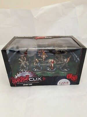 Horrorclix, Game, Collectable Figures, Boxed, Unopened  • 10£