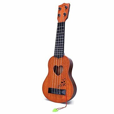Kids Toy Classical Ukulele Guitar Musical Instrument, Brown • 14.99£