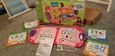 Leap Frog Leap Start Interactive Learning System BNIB With Learning Books  • 26£