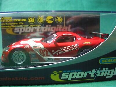 Scalextric Factory Digital C2691d Dodge Viper Competiton Coupe 3-r Racing Bnib  • 39.99£