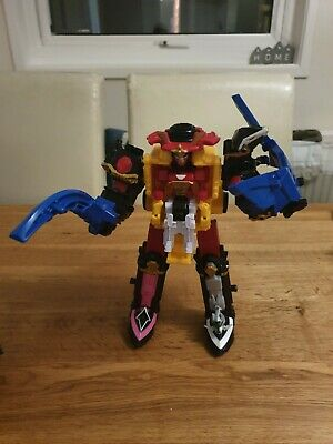 Bandai Power Rangers DX Ninja Steel Series Megazord Large Action Figure • 20£