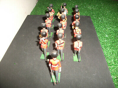 Britains Eyes Right Scots Guards Band  1/32 • 48£