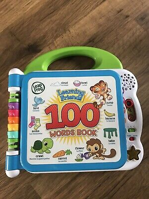 Leapfrog 100 Words Book • 10£