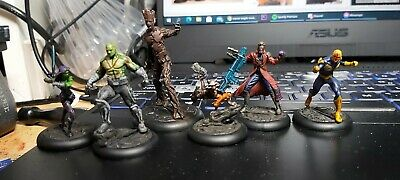 Marvel Knight Models Guardians Of The Galaxy • 60£