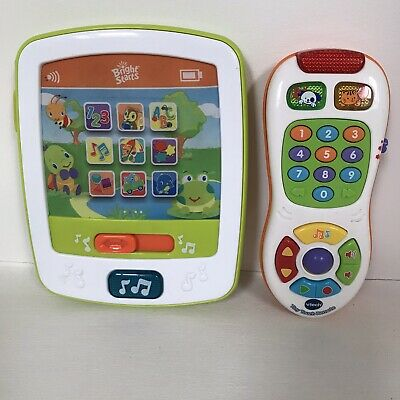 Vtech Tiny Touch Remote & Bright Starts Toy Tablet • 1.10£