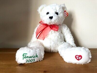 Ty Fenwick Holiday Teddy Bear Beanie Classic Brand New With Tags • 45£