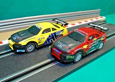 Artin 1:43 Scale Slot Cars - Nissan GTR Skyline Red & Yellow (tested) • 14.99£