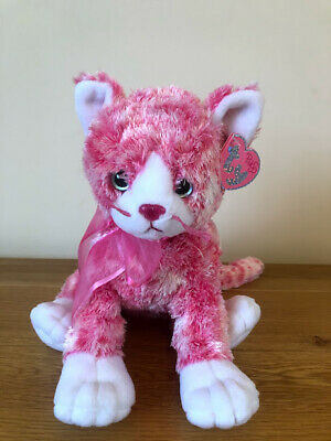 Ty Sugarcat The Pinky Cat Brand New With Tags Beanie Classic • 25£