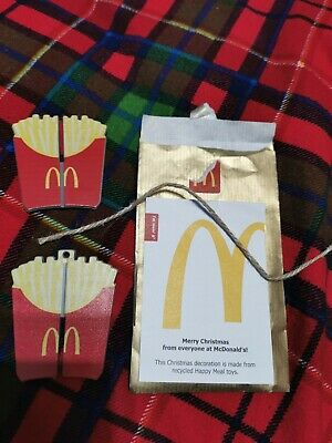 Mcdonald's 2020 Christmas Bauble Fries  • 3£
