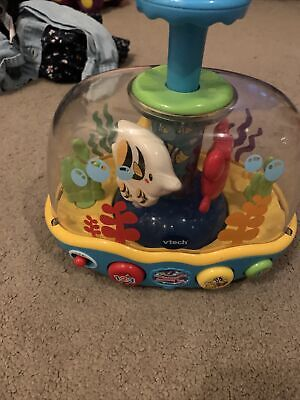 Vtech Seaside Spinning Top Toy Press & Discover • 2£