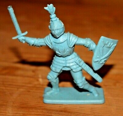Rare Kellogg's Medieval Knight FIGURE 1960's By Crescent Toys • 1.99£
