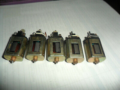 Scalextric Early Johnson Motors • 7£