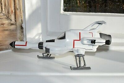 Dinky Toys 351 UFO INTERCEPTOR bare Metal Respray With RESIN MISSILE • 21£