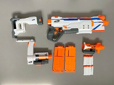 NERF Modulus Regulator Complete With Add-ons And Darts • 25£