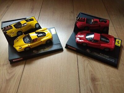 2x Carrera Enzo Ferrari - 25702 Red And 25703 Yellow • 25£
