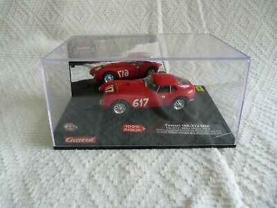 Carrera Ferrari 166/212 1952 Mille Miglia Slot Car Boxed • 25£