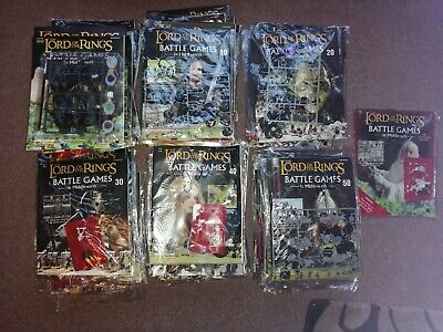 Lord Of The Rings, Battle Games In Middle Earth Magazine Issues 1-62 • 8.99£