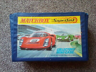 Matchbox Superfast Collectors Mini Case 1960 Vintage Toy Case Holds Up To 24 Car • 10£