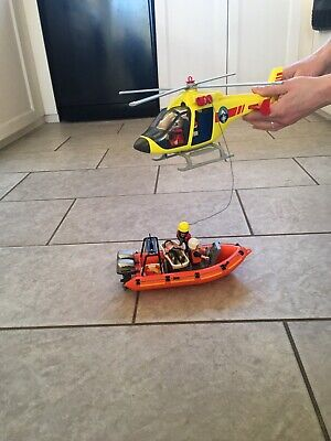 Playmobil Rescue Lifeboat Helicopter Bundle • 5.60£