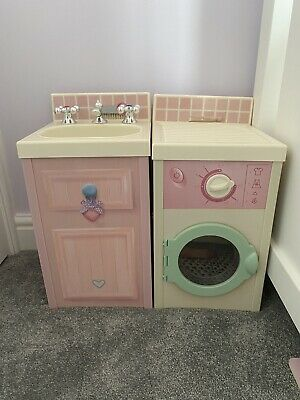 Rose Petal Cottage Accessories - Sink And Washing Machine • 15£