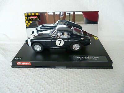 Carrera Exclusiv #20215 Black No7 Ferrari 250GT SWB. Scale 1:24. Boxed Slot Car  • 36£