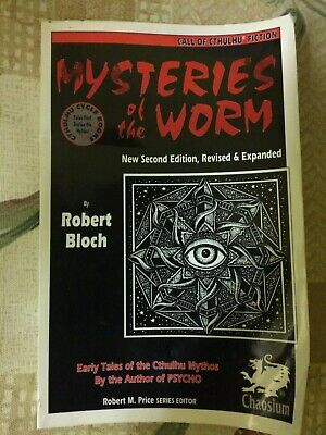 Mysteries Of The Worm - Robert Bloch (1993) Second Edition - Cthulhu Mythos • 18.99£
