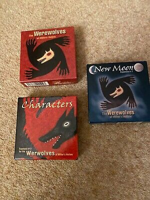 The Werewolves Of Miller's Hollow Plus Expansions 1 And 3 • 18£