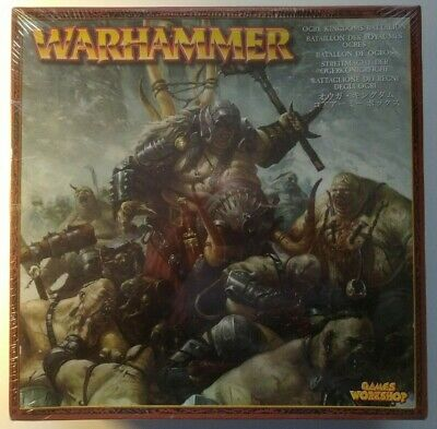 Ogre Kingdoms Battalion **New In Cellophane** Warhammer Oldhammer Mawtribes • 84.95£