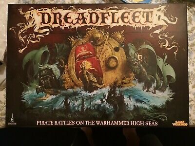 Dreadfleet Boxed Game Complete • 120£