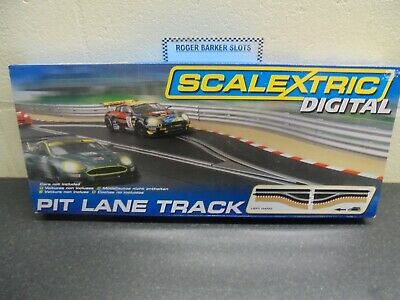 Scalextric  Digital   C7014  Pit Lane Track Left Hand  BNIB  • 40£