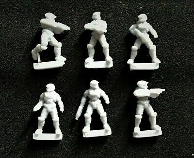 Halo: Ground Command Set Of 6 Resin 1/100th Scale Spartans • 10£