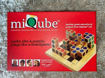 MiQube Wooden Strategy Puzzle Game • 9.99£