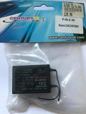 Century Uk Blaze 2.4 Receiver P-ble-59 For R/c Model Helicopter Blaze Cuk-rc2601 • 24.99£